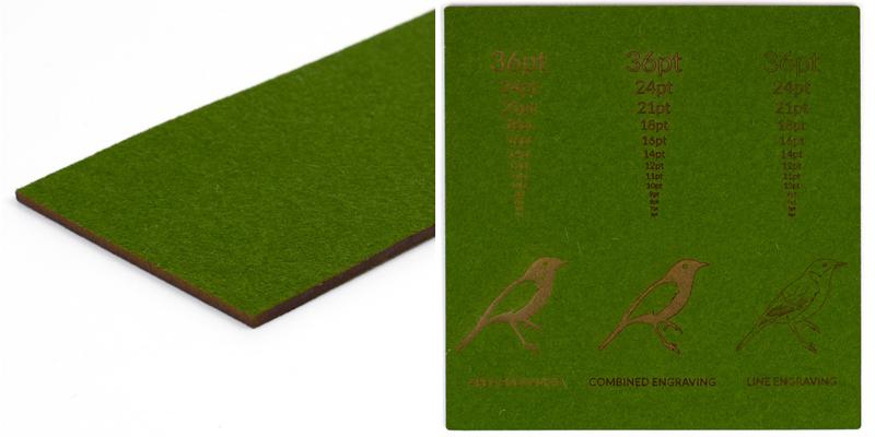 Wool Felt 3 - Moss Sheet