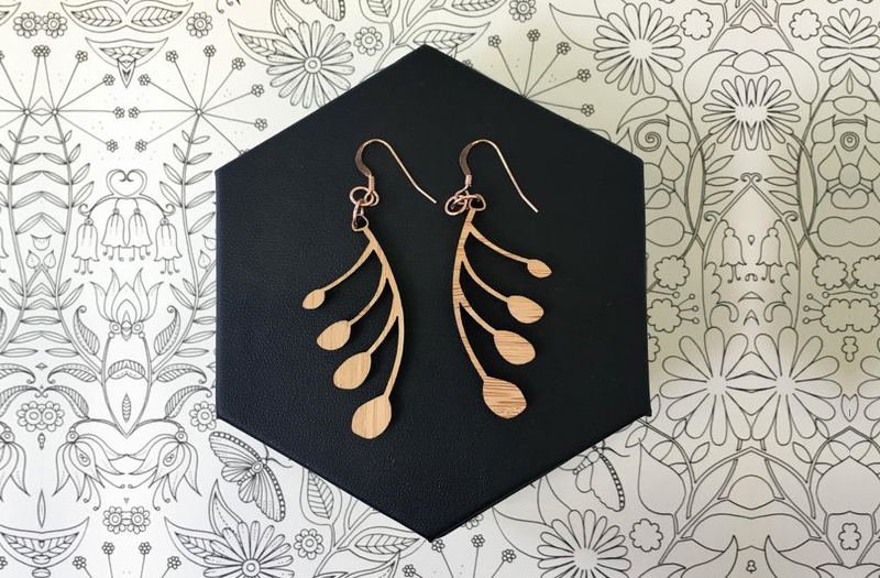 Selling Laser Cut Jewelry 2 - YeWon Studios - Orchid Earrings