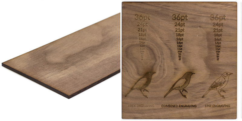 Hardwoods 13 - Walnut Sheet