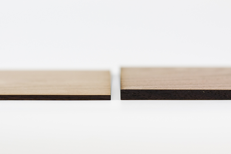 Hardwoods 2 - Thickness Comparison