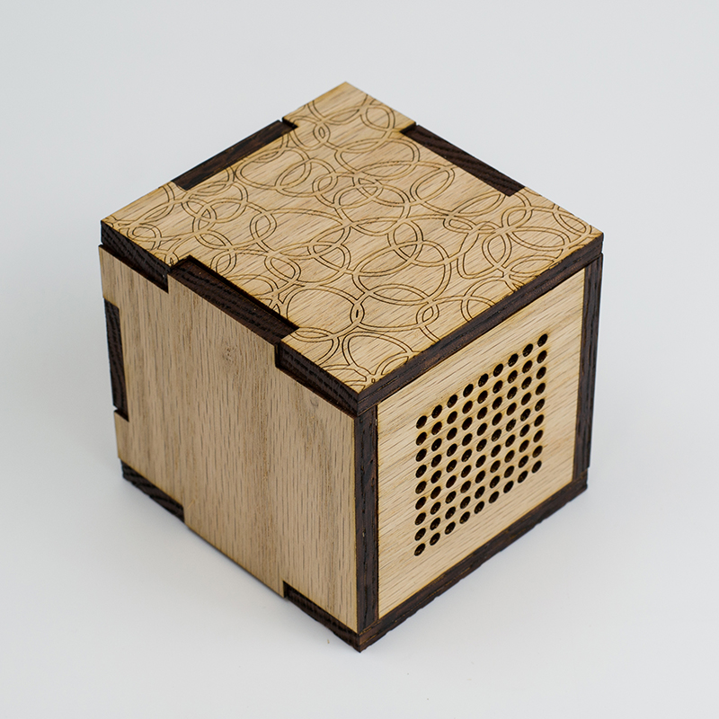 Hardwoods 3 - Maple Speaker