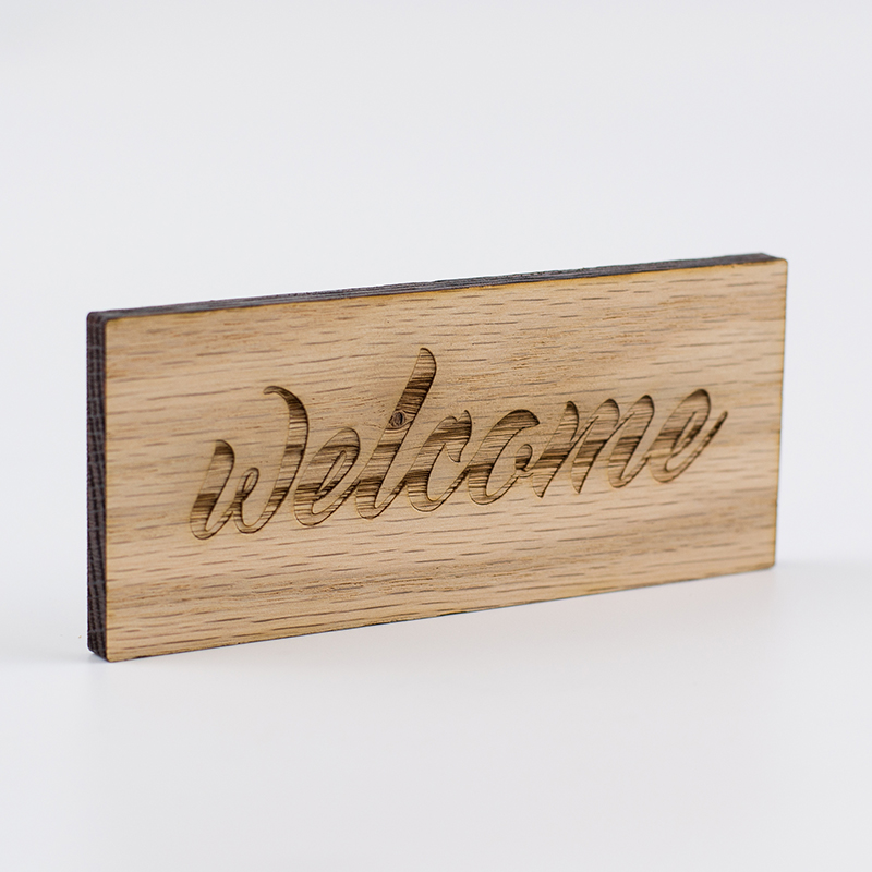 Hardwoods 8 - Maple Sign