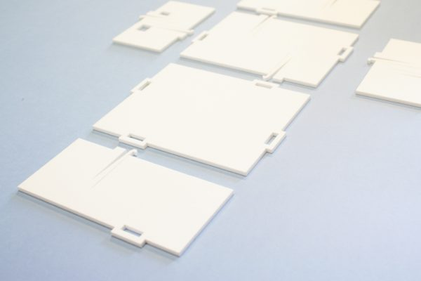 Matte White Acrylic 1 - Laser Cut Parts