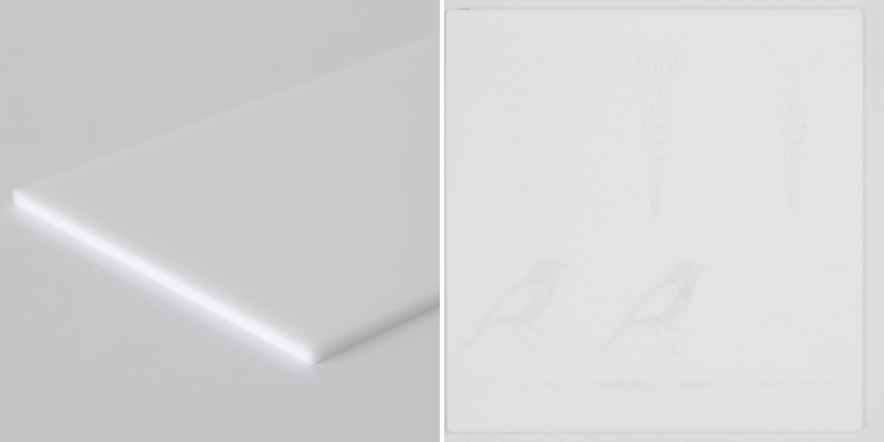 Matte White Acrylic 7 - Sheet