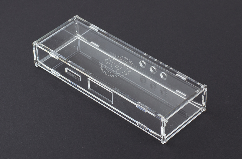 Impact Modified Acrylic 1 - Clear Electrnoics Enclosure