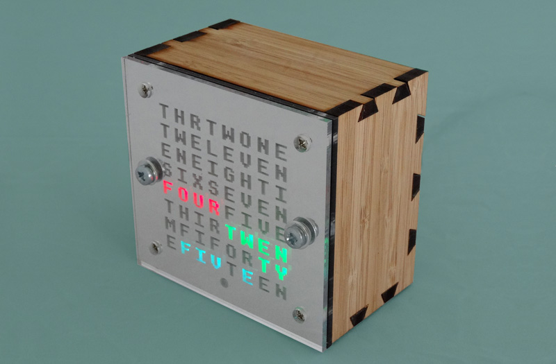 Mark Wilson 1 - Word Clock