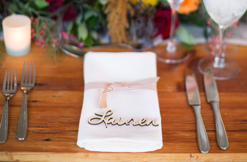Michelle Edgemont Design 1 - Wedding Place Card
