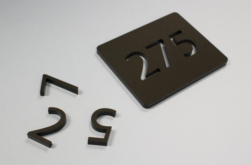 Matte Black Acrylic 4 - Signage