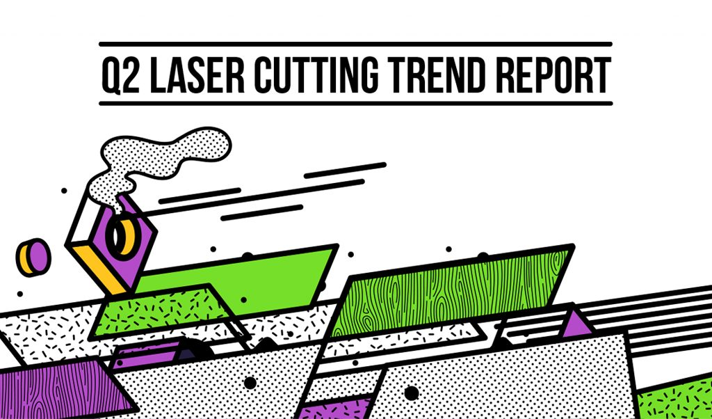 Online Laser Cutting Trends Q2 2019 - 1