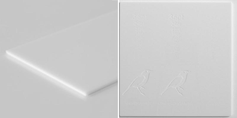 White Acrylic 4 - 1-5mm Sheet