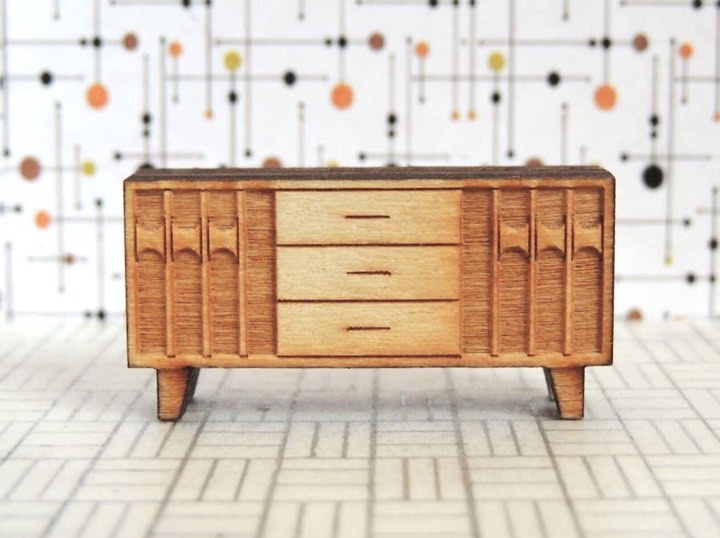 Faith Guynes 3 - Miniature Console Sideboard