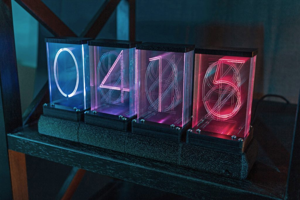 Lixie Labs LED Nixie Clock 2 - Lixie 2 Colors