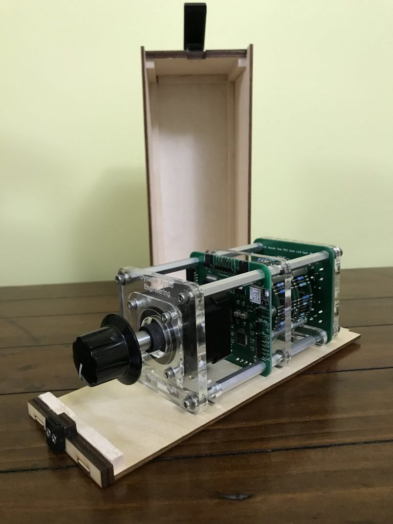 DAE 5 - v3.0 Attenuator Shipping Crate Open
