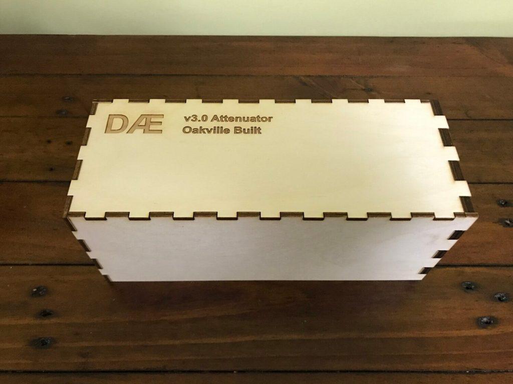DAE 6 - 3.0 Attenuator Shipping Crate Closed