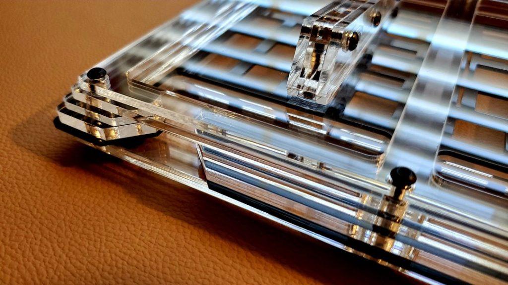 Limbo Keys Sidecar 6 - Clear Acrylic Stack