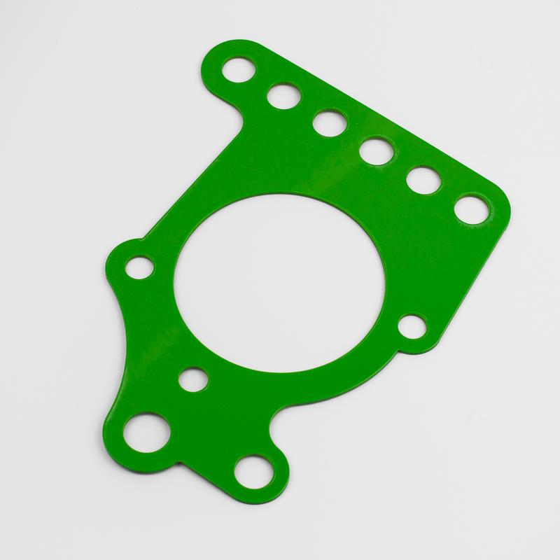 New Materials Green Delrin 2